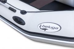 Beluga 10 FT. Light Gray Inflatable Boat