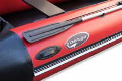 Beluga 14FT. Red/Black Inflatable Boat